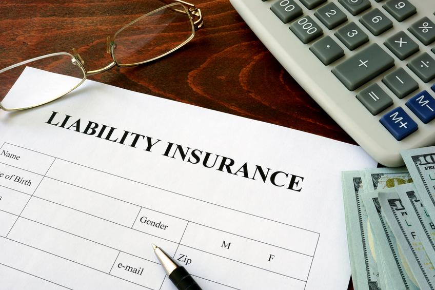 Liability insurance application form