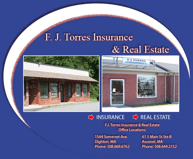 FJ Torres Insurance offices in Dighton and Assonet, MA